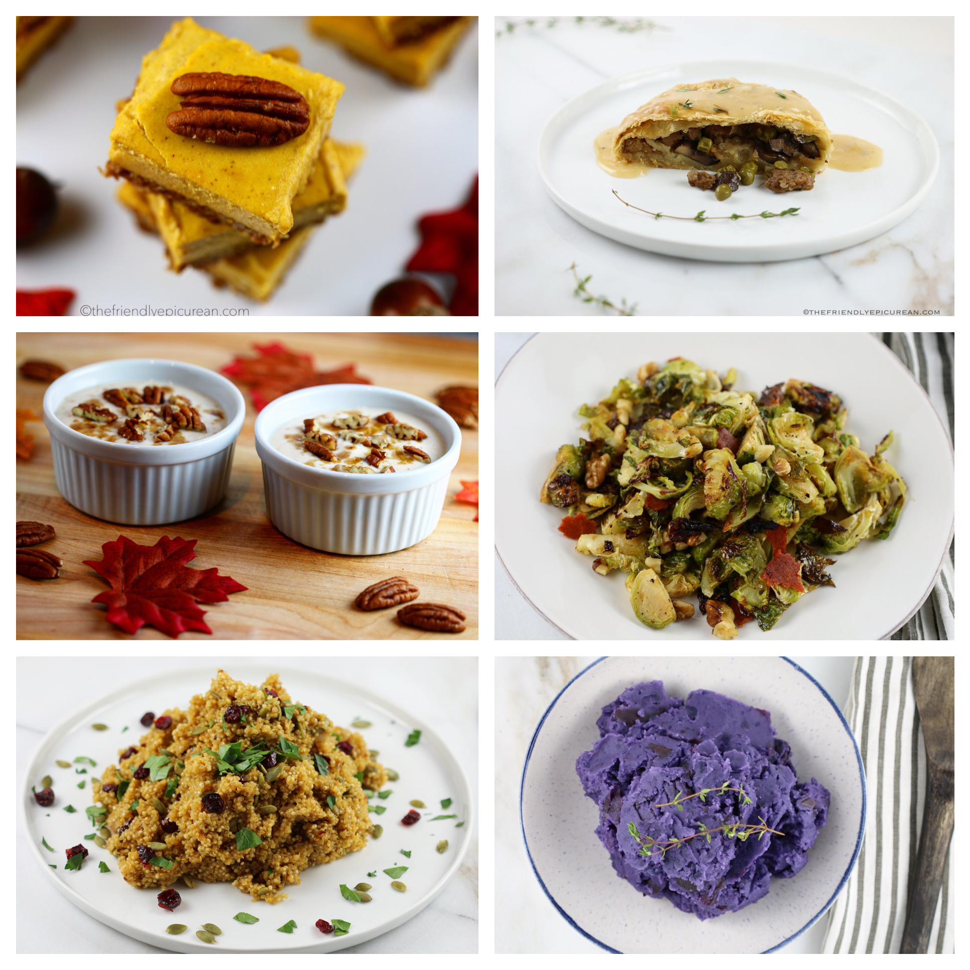 Vegan Thanksgiving Dinner Menu