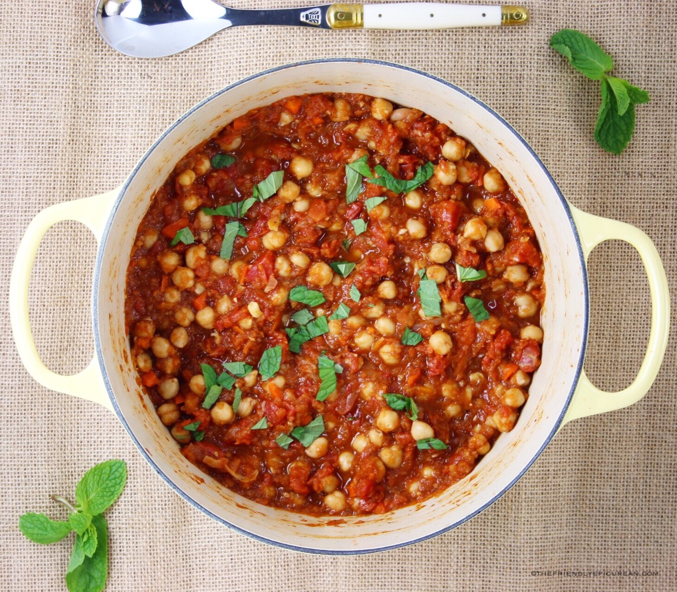Moroccan Spiced Chickpea Curry
